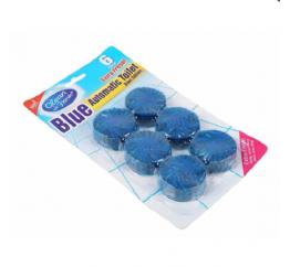 Vỉ 6 Viên Khử Mùi Vả Tẩy Bồn Cầu BLUE Clean-n-Fresh