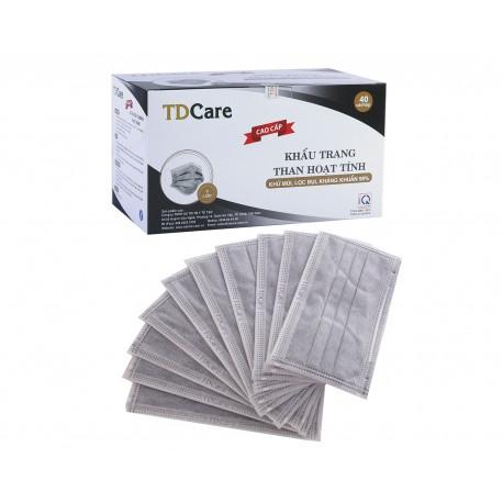 Khẩu Trang Than Hoạt Tính Tdcare 4 Lớp - 40c - 3435427