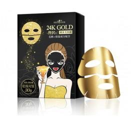Mặt Nạ Vàng 24k Sexylook Dành Cho Da Khô 4 Miếng X 30g