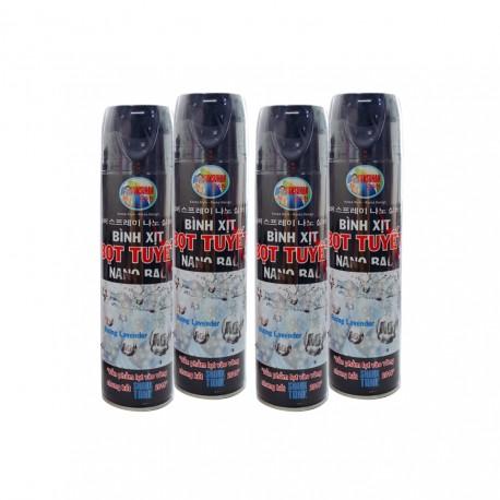 Bình Xịt Bọt Tuyết Tẩy Rửa Nano Sunsuhan 550ml