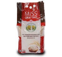 Gạo Miss Cần Thơ 1-2 túix5kg