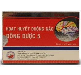 Hoạt Huyết Dưỡng Não Đông Dược 5 5hx3vx10v