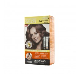 Lover's Hair Salon 4.5 Chestnut Brown-2x60ml