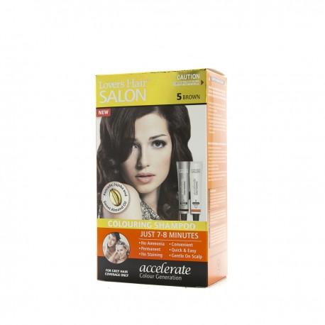 Lover's Hair Salon 5 Brown-2x60ml