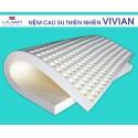 Nệm cao su thiên nhiên Vivian 1m6x2mx10cm