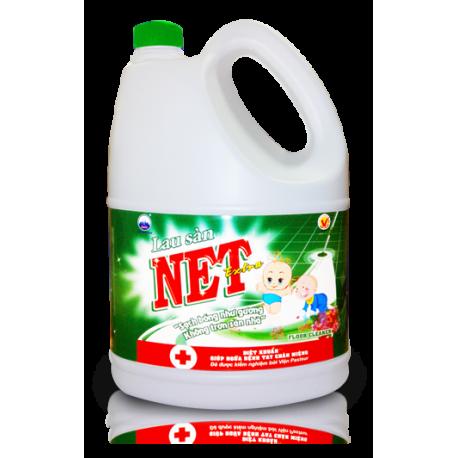 Nước Lau Sàn NET Extra Kháng Khuẩn 4kg