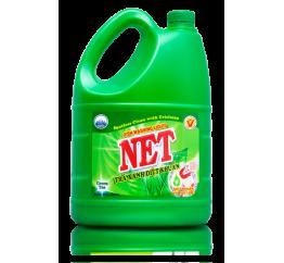 Nước rửa chén kháng khuẩn trà xanh NET 4kg