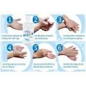 Gel rửa tay khô thiên nhiên không mùi Eztex 1000ml