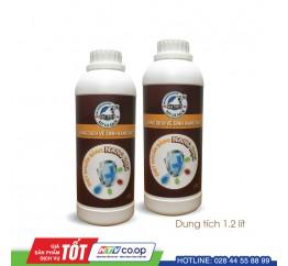 Bộ 2 chai dung dịch vệ sinh Nano Bạc Gấu Tuyết 1,2 lít