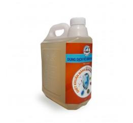 Can dung dịch vệ sinh Nano Bạc Gấu Tuyết 5 lít