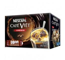 Cà phê đen NESCAFE hộp giấy 15 gói x 16g