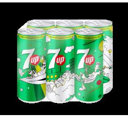 Nước ngọt 7Up Lon cao (24 lon x 330ml)