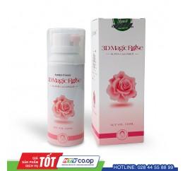 Sữa rửa mặt hoa hồng 3D Magic Rose Gaiacos 120ml