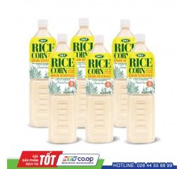 Nuoc gao bap RiceCorn OKF 1.5L