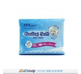 Băng vệ sinh Young Girl Cooling Soft ban ngày (24cm - 8miếng)