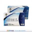 Khẩu trang y tế kháng khuẩn 4 lớp An Bình - 50 cái - Màu xanh