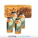 Combo mật Ong Honimore 1: Gồm 4 chai mật ong chín Hoa Cao Nguyên 360g + 4 chai mật chín Hoa Miền Núi 360g