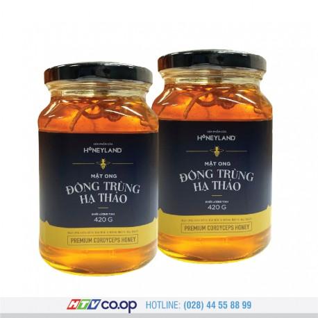 Mật ong Đông Trùng Hạ Thảo Honeyland - 2 Hũ x 420g