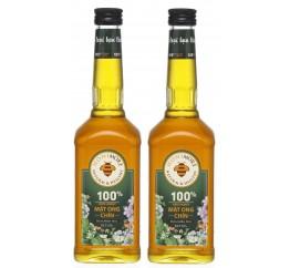 Mật ong chín Honimore Hoa Miền Núi 2 chai x 630g