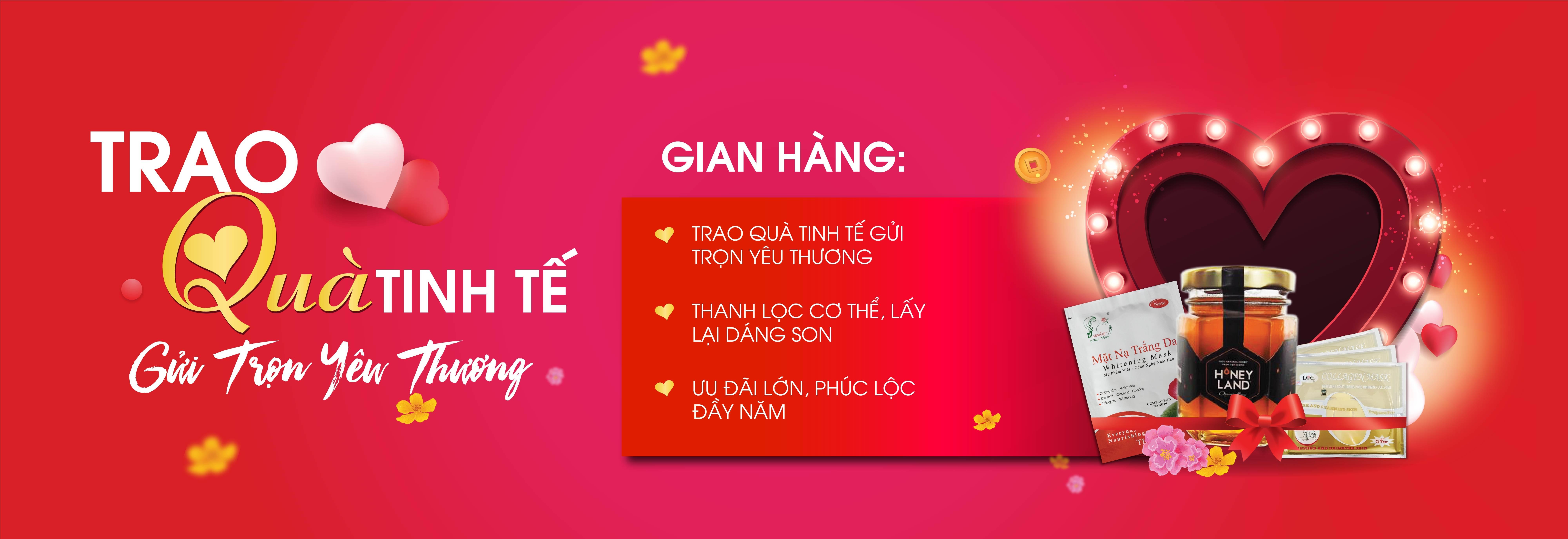 Trao Quà Tinh Tế - 3 Gian Hàng I CTKM tháng 2